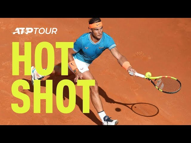 Hot Shot: Rafa Frustrates Novak, Gets To Everything Rome 2019 Final