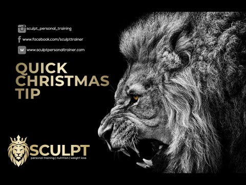 Sculpt's Quick Christmas Tip