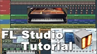 How to make a melody of Tropical House - FL Studio Tutorial