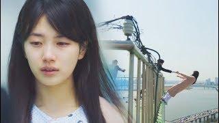 While You Were Sleeping (당신이 잠든 사이에)  (EP 1-2) Nam Hong Joo (Suzy) Death Scene  Roof Top