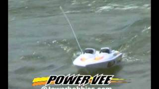 Tower Hobbies Power Vee EP RTR Boat A2 Video