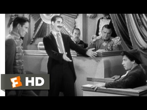 Duck Soup (8/10) Movie CLIP - I Object! (1933) HD