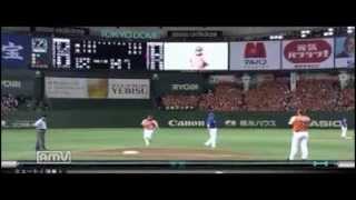 高橋由伸2013年の本塁打をまとめてみました。全本塁打(1号~10号)をYo...