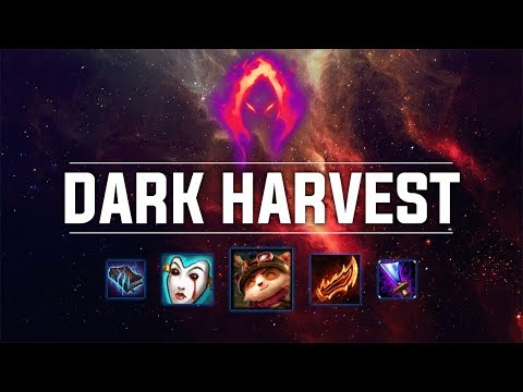 Dark Harvest Teemo! SO MUCH DAMAGE! - Ranked Solo Preseason 9