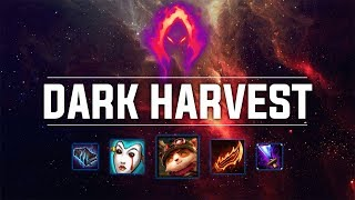 Dark Harvest Teemo! SO MUCH DAMAGE?! - Ranked Solo Preseason 9