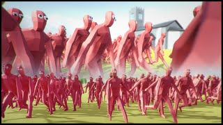 peasant army can be stopped totally accurate battle simulator gameplay funny moments