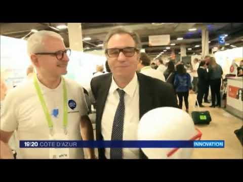 """Reportage France 3 Côte d'Azur 19/20 du 17/01/18 - """"La série Las Vegas"""""""