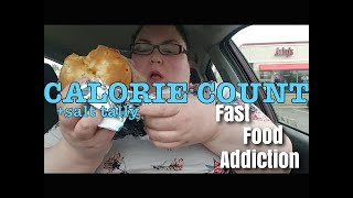 """Calorie Count - Foodie Beauty """"FAST FOOD FUNERAL"""""""
