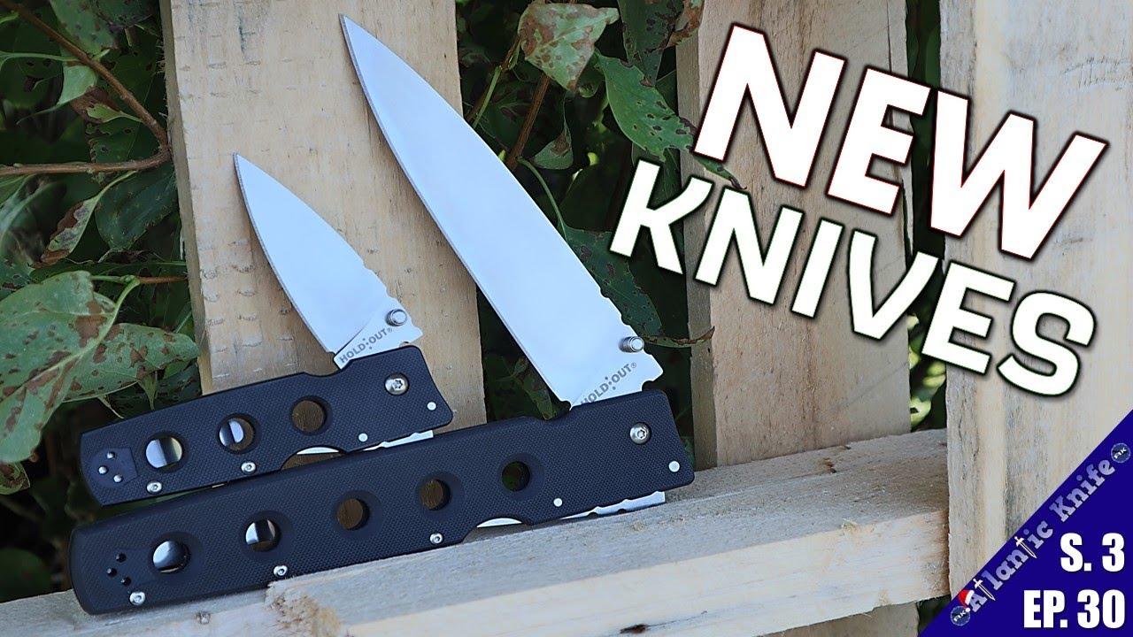 NEW Knives Review | Cold Steel Hold Out CRKT Spyderco CASE | $1000 Custom Knife | AK GAW
