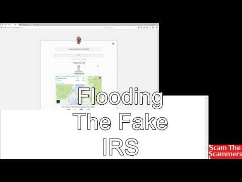 Flooding the Fake IRS with non stop calls