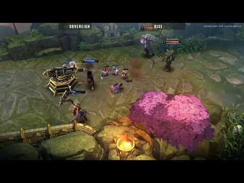 Exclusive Global Unveiling of Vainglory 5V5 - Sovereign vs Rise (PBE All-Stars)