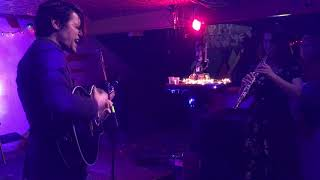 Mike O'Malley and Katie Garringer Martins at Be Here Now, Muncie, Indiana