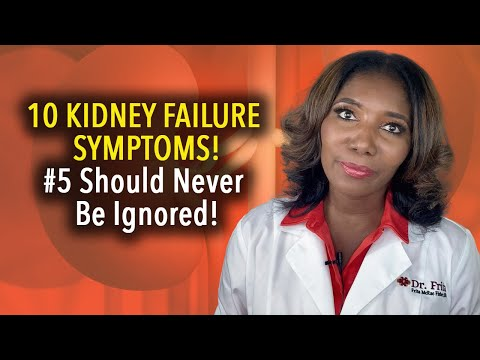 Kidney Failure Symptoms: 10 Signs Most People Will Miss!