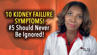 10 Telling Symptoms Of Kidney Disease