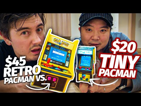 Is Japan's Tiniest Arcade Game Actually Playable?🕹️Micro Pacman