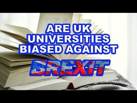 🎓 Brexit and University Education Bias 🎓