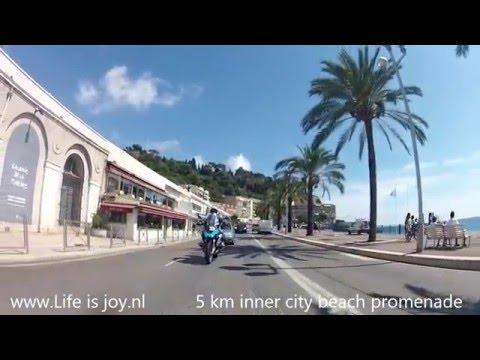 French Riviera Côte d'Azur on BMW R1200GS LC, Menton, Monaco, Nice, Mercantour national park L