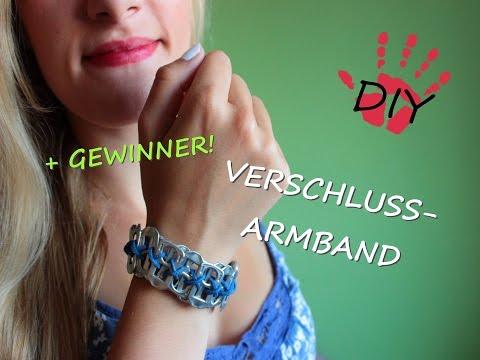 Armband aus dosenverschl ssen doovi for Manschette blumentopf basteln