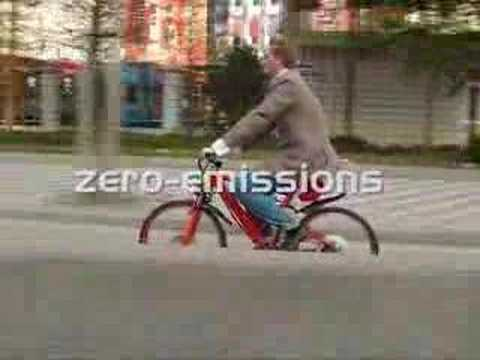 Hydro-Bike - hydrogen fuel cell bicycle thumbnail