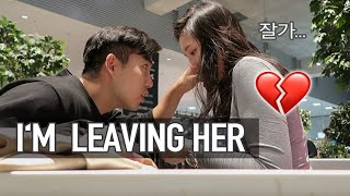Saying Goodbye..LONG DISTANCE RELATIONSHIP Korean boyfriend 🇰🇷🇩🇪 International Couple in Germany