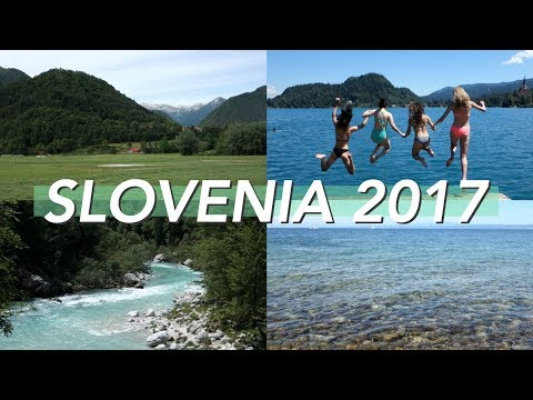One Week in Slovenia 💚 | Ljubljana, Lake Bled, Soča River & More