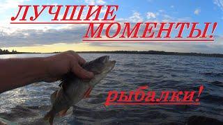 Лучшие моменты рыбалки сетями