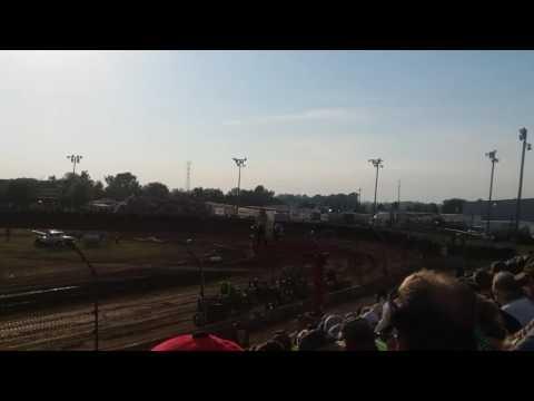 USAC Midgets Heat 3  Kokomo Speedway