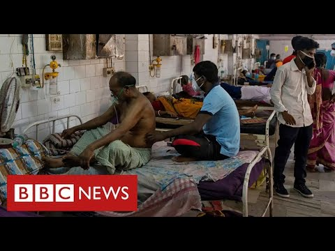 India's poorest suffer Covid with almost no health care - BBC News