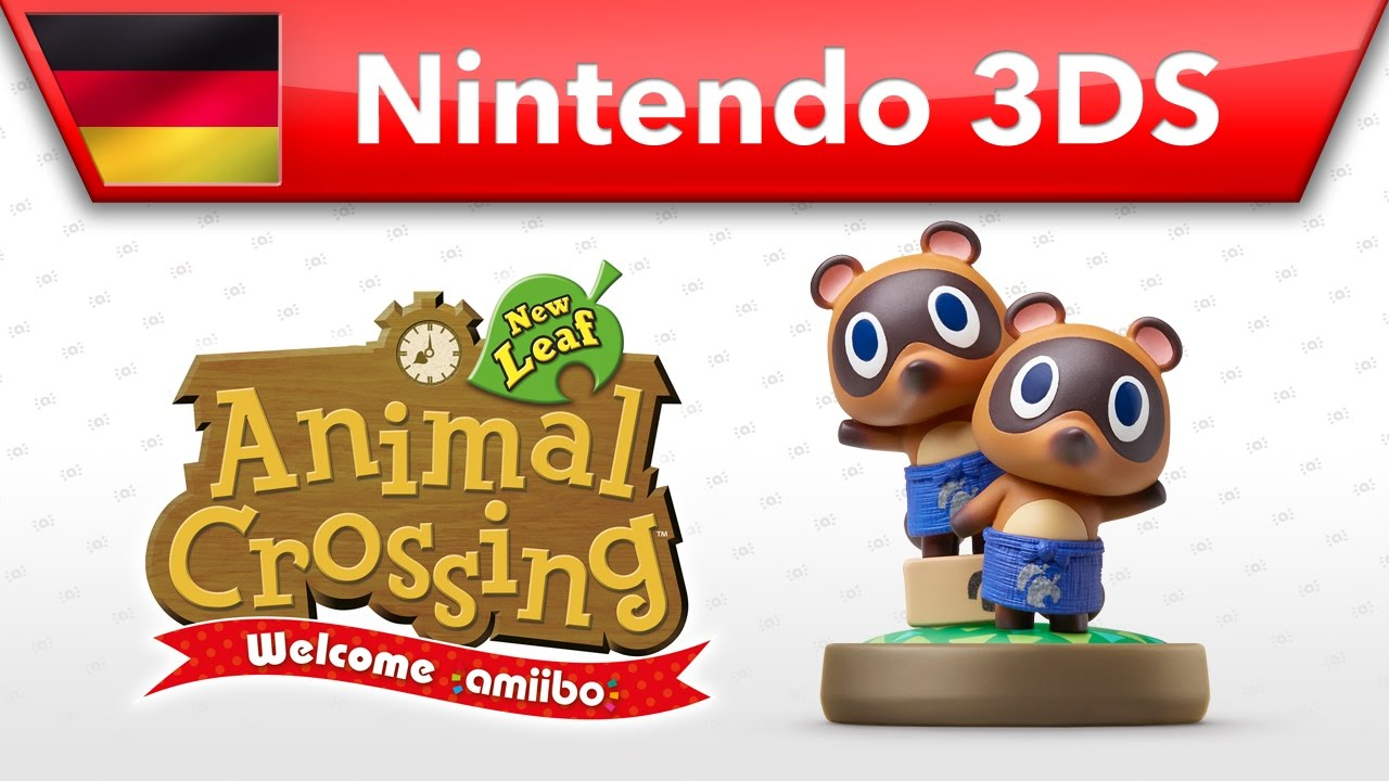 What Is A Video Switcher Animal Crossing New Leaf Welcome Amiibo Nepp Und Schlepp Nintendo 3ds
