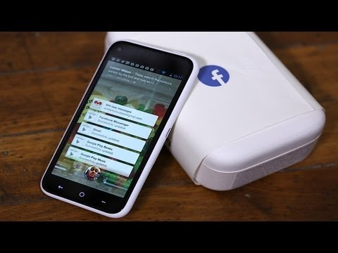 HTC First Unboxing (Facebook Phone)