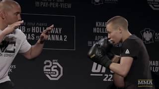UFC 223: Rose Namajunas Open Workout - MMA Fighting