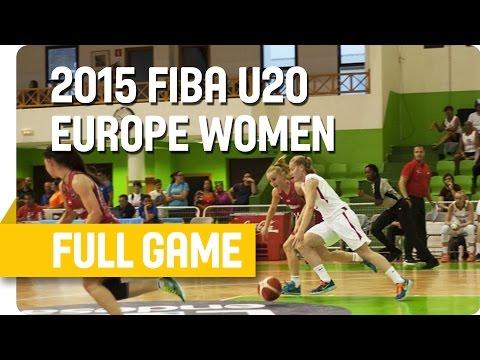 Czech Republic v Hungary - Group C - Full Game - U20 European Championship Women