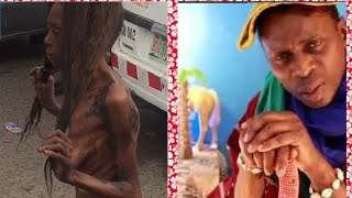 Ajah This Woman was dropped from moving vehicle The woman with a thousand  tattoos