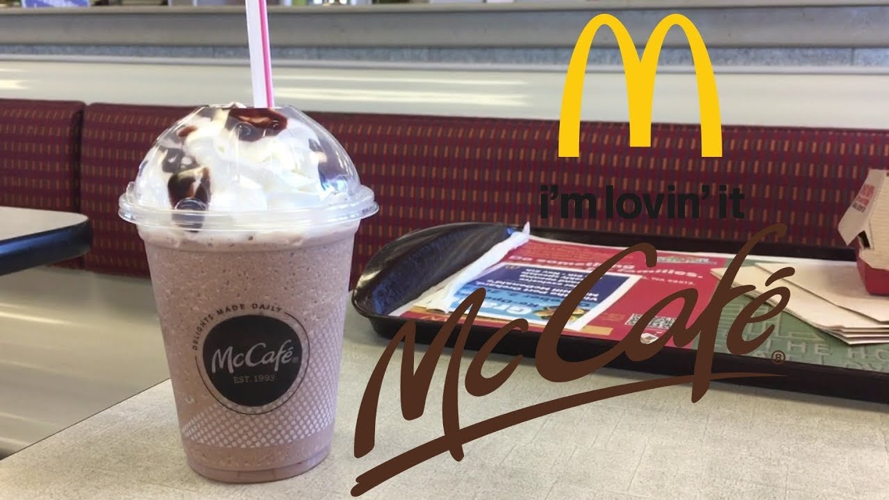 Review: McDs McCafe Mocha Frappé - YouTube