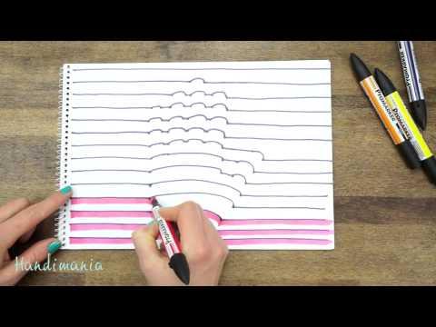 Comment dessiner vos mains en 3d youtube for Disegni facili da disegnare a mano libera