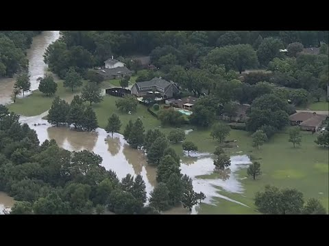 Raw: Dallas Floods After Heavy Rains