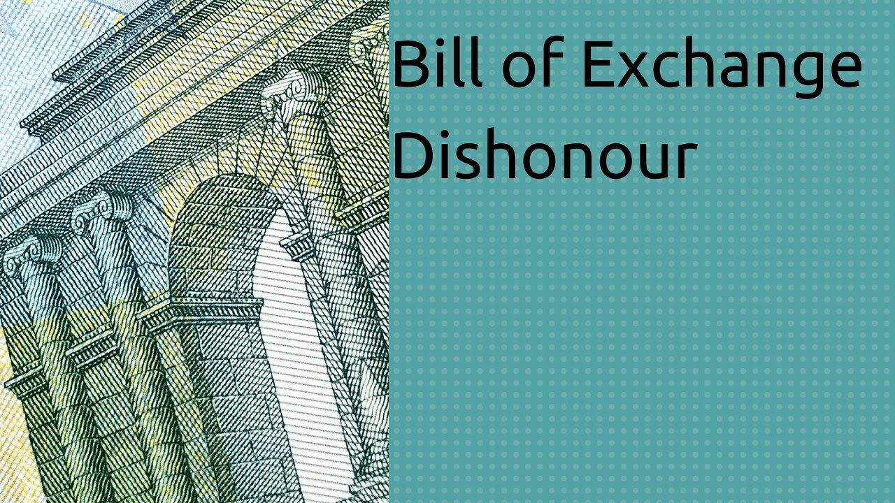 Image result for dishonour of a bill