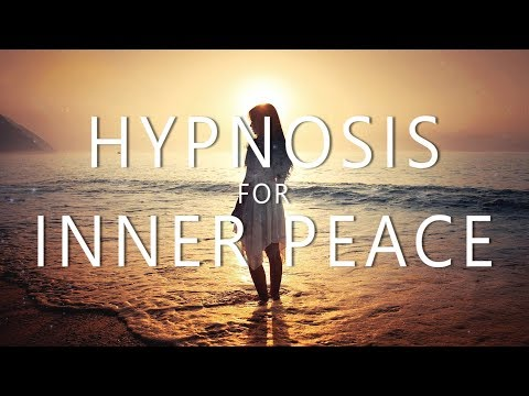 Hypnosis for Inner Peace (15 Minute Guided Meditation, Music Relax Mind Body Anxiety Calm)
