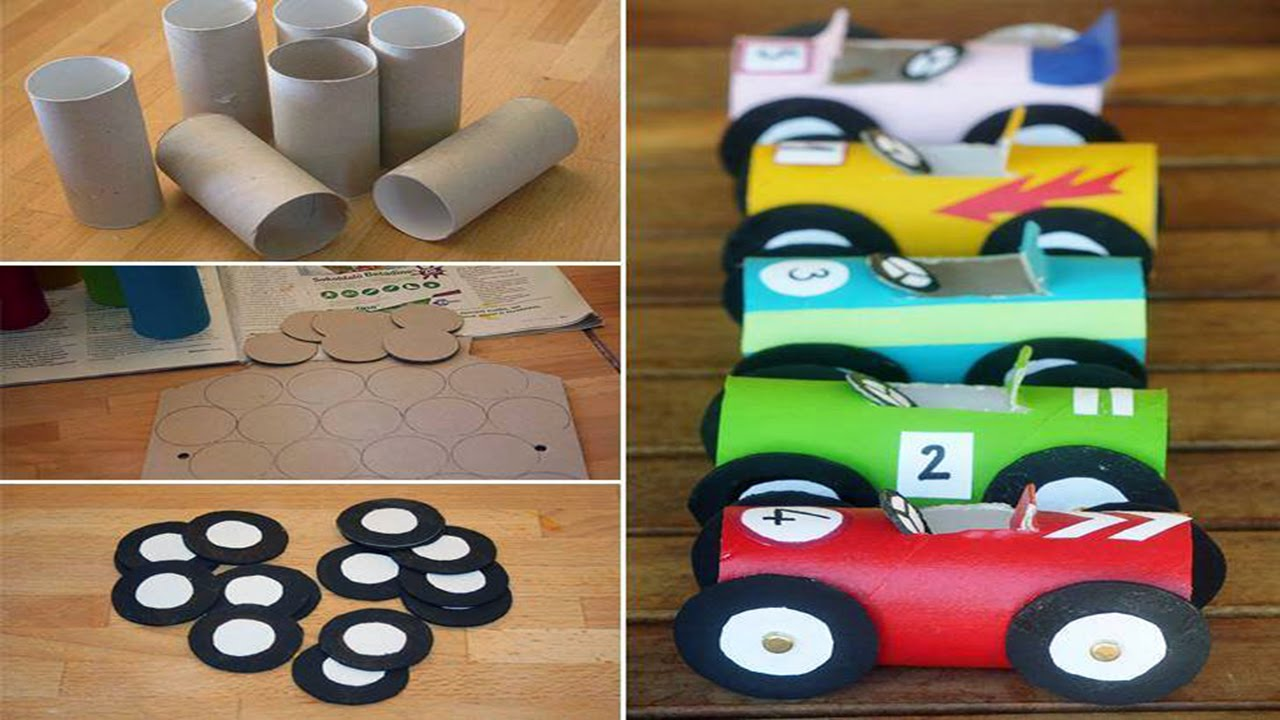 Toilet Paper Roll Crafts For Kids Full HD