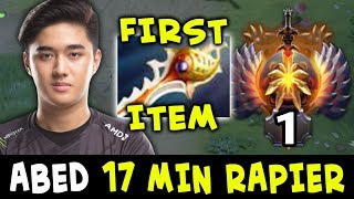 RAPIER FIRST ITEM — TOP-1 RANK Abed