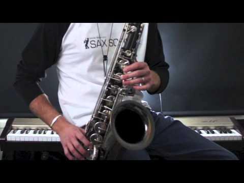 Jingle Bells : How to play Christmas songs on Tenor Sax