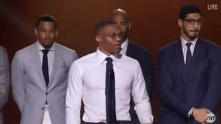 Russell Westbrook Wins MVP Award - 2017 NBA Awards