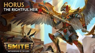 SMITE God Reveal Horus the Rightful Heir