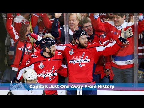 Washington Capitals one win away from taking Stanley Cup