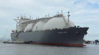FUJI LNG LNGタンカー LNG TANKER SHIP