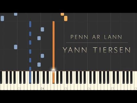 Penn ar Lann - Yann Tiersen \\ Synthesia Piano Tutorial