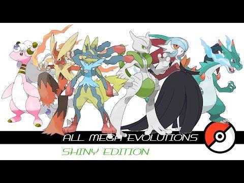 All Mega Evolutions (Shiny)