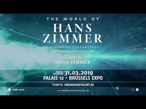'The World of Hans Zimmer - A Symphonic Celebration' op 31 maart 2019 in Paleis 12 Mp3