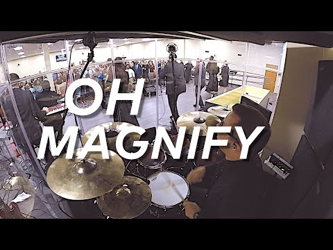 Oh Magnify & Reprise Drum Cam // James Wilson // Songs For The Church