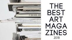 The Best Art Magazines 2018